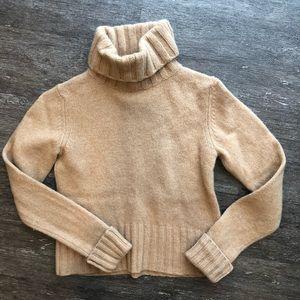 J Crew 100% wool cowl neck sweater